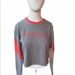 VANS Off The Wall Cropped Top Jessler Long Sleeve